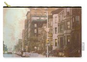 City Streets In Grunge 2 Carry-all Pouch