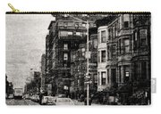 City Streets In Grunge Carry-all Pouch
