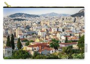 City View Of Old Buildings In Athens, Greece Carry-all Pouch