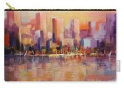 Cityscape 2 Carry-all Pouch by Rosario Piazza