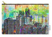 Cityscape Art City Optimist Carry-all Pouch