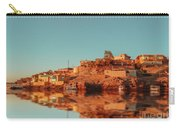 Cityscape For The Beautiful Nubian City Aswan In Egypt At The Golden Hour Of The Sunset Time. Carry-all Pouch