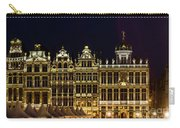 Cityscape In Brussels Europe - Landmark Of Brussels, Belgium Carry-all Pouch