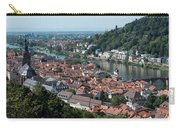 Cityscape  Of Heidelberg In Germany Carry-all Pouch