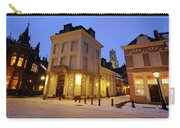 Cityscape Of Utrecht In The Evening At Pausdam 5 Carry-all Pouch
