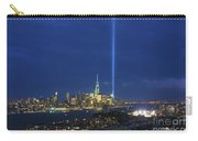 Cityscape Tribute In Lights Nyc Carry-all Pouch
