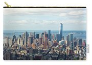 Cityscape View Of Manhattan, New York City. Carry-all Pouch