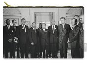 Civil Rights Leaders And President Kennedy 1963 Carry-all Pouch