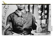 Civil War: Black Soldier Carry-all Pouch