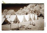 Civil War Encampment - Infrared Carry-all Pouch