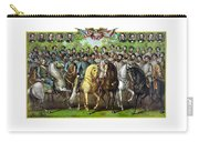Civil War Generals And Statesman Carry-all Pouch