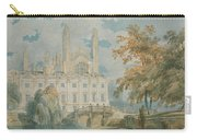 Clare Hall And Kings College Chapel, Cambridge  Carry-all Pouch