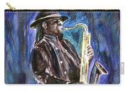 Clarence Clemons Carry-all Pouch by Clara Sue Beym