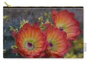 Claret Cup Cactus - Three Of A Kind  Carry-all Pouch