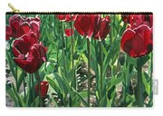 Claret Tulips  Carry-all Pouch