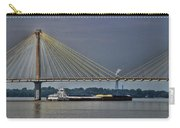 Clark Bridge And Barge  Carry-all Pouch