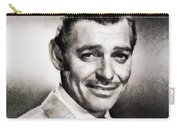 Clark Gable, Vintage Hollywood Actor By John Springfield Carry-all Pouch