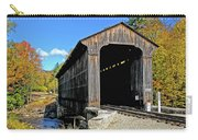 Clark's Trading Post Railroad Covered Bridge Carry-all Pouch