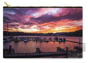 Clarkston Marina At Sunset Carry-all Pouch