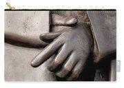 Clasped Hands - Sculpture Garden Nola Carry-all Pouch