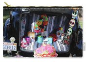 Classic Car Day Of Dead Decor Trunk Carry-all Pouch