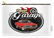 Classic Car Garage With Gto Carry-all Pouch