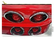 Classic Car Tail Lights Reflection Carry-all Pouch