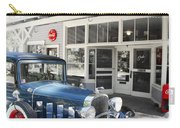 Classic Chevrolet Automobile Parked Outside The Store Carry-all Pouch