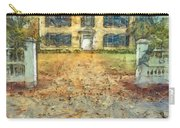 Classic Colonial Home In Autumn Pencil Carry-all Pouch