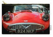 Classic Daimler Sports Car Carry-all Pouch by Nick Bywater