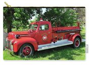 Classic Fire Truck Carry-all Pouch