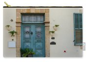 Classic House Entrance In Old Nicosia Carry-all Pouch
