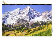 Classic Maroon Bells Carry-all Pouch