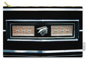 Classic Mercury Grill Emblem Carry-all Pouch