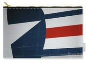 Classic Military Aircraft Abstract- Star 5 Carry-all Pouch