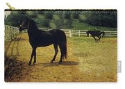 Classic Morgan Horses Carry-all Pouch