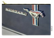 Classic Mustang Logo Closeup Carry-all Pouch