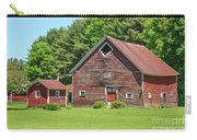 Classic Old Red Barn In Vermont Carry-all Pouch