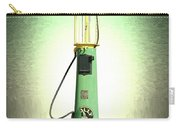 Polly Gasoline Pump And Emblem Carry-all Pouch
