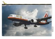 Classic Twa Boeing 757-231 Carry-all Pouch
