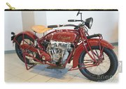 Classic Vintage Indian Motorcycle Red   # Carry-all Pouch