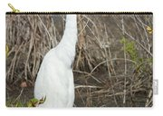 Classic White Carry-all Pouch
