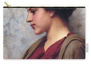 Classical Beauty John William Godward Carry-all Pouch