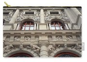 Classical Decorative Building Facade In Vienna Carry-all Pouch