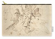 Classical Figures Gathered Around An Urn Carry-all Pouch