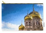 Intercession Cathedral In Saratov Russia Carry-all Pouch