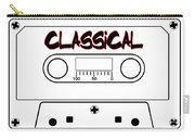 Classical Music Tape Cassette Carry-all Pouch