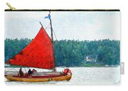 Classical Wooden Boat Tacksamheten Carry-all Pouch