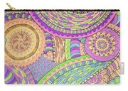 Classy Paisley Carry-all Pouch