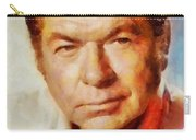 Claude Akins, Vintage Hollywood Actor Carry-all Pouch